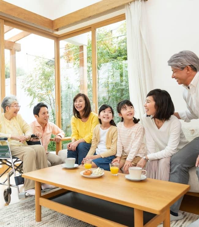 二世帯で暮らす理想の家へ