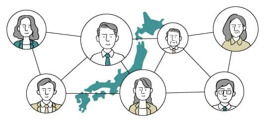 工務店・ビルダー様の全国規模の強固なネットワーク形成