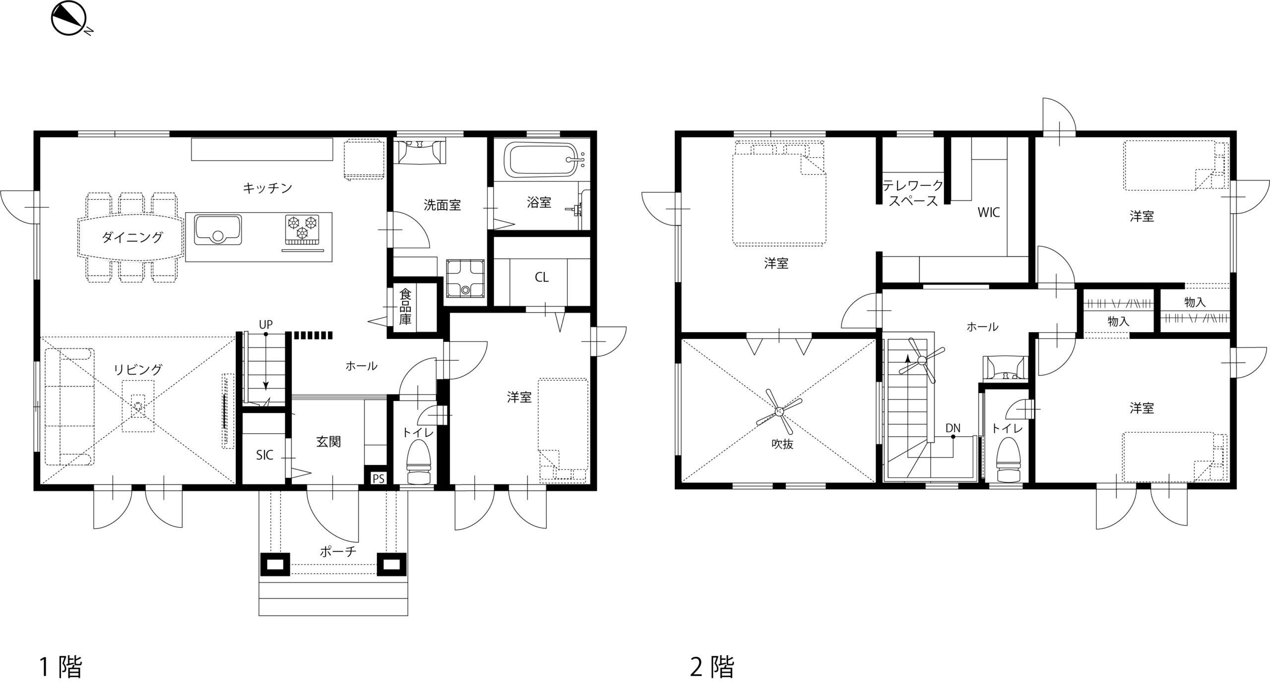 HOUPARK 住宅平面図